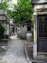 Pere-Lachaise Cemetery in Paris France - Resting Place of the Famous