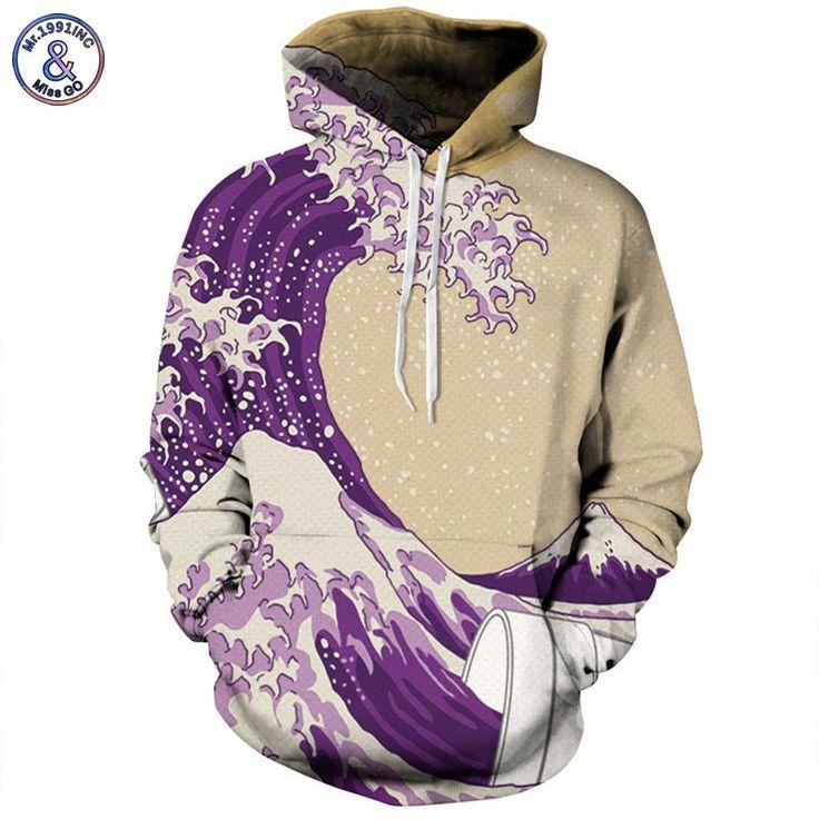 Men/Women 3D Printed Sea Waves Sweatshirts //Price: $39.45 & FREE Shipping //     hoodies