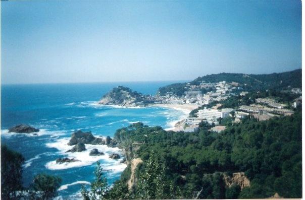 one of my favourite views of Lloret de mar