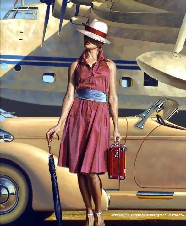 25 Beautiful and Mind Blowing Oil Paintings by Peregrine Heathcote