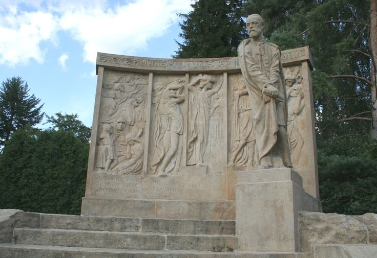 pomník Bedřicha Smetany v Jabkenicích od F. Bílka