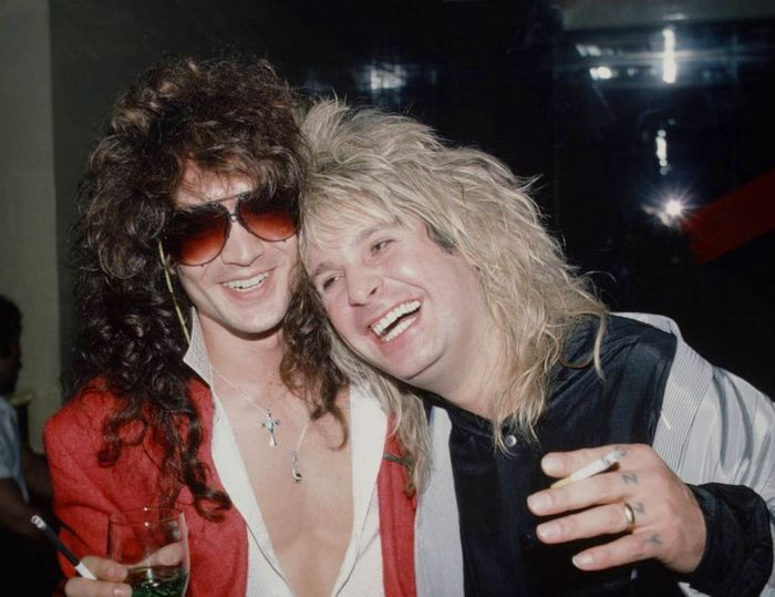 Jake E. Lee and Ozzy. 1983