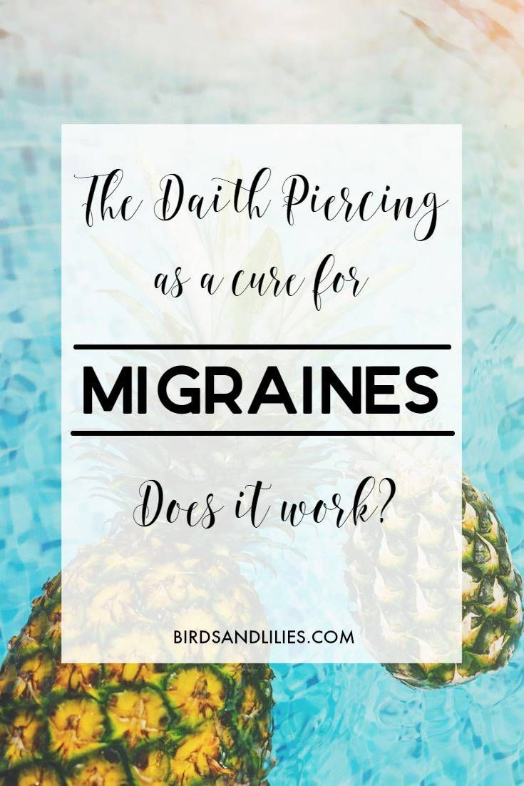 The Daith Piercing for Migraines – Could it Work For You?