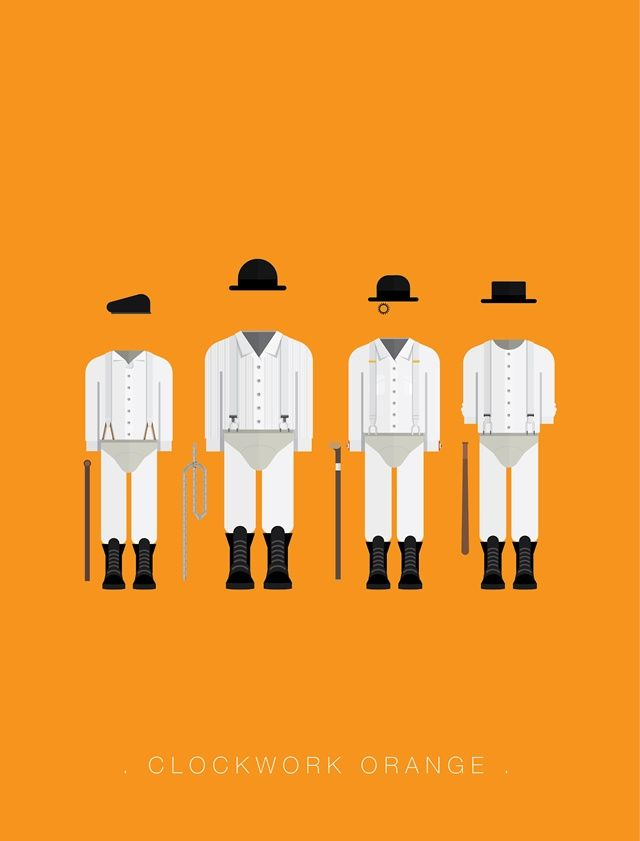 A clockwork orange movie poster frederico birchal
