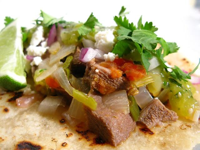 Tacos de Lengua (Beef Tongue Tacos) | LatinoFlava | Pinterest