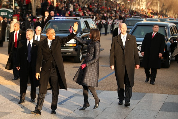 Michelle Obama Photo - Inaugural Parade Held After Swearing In Ceremony