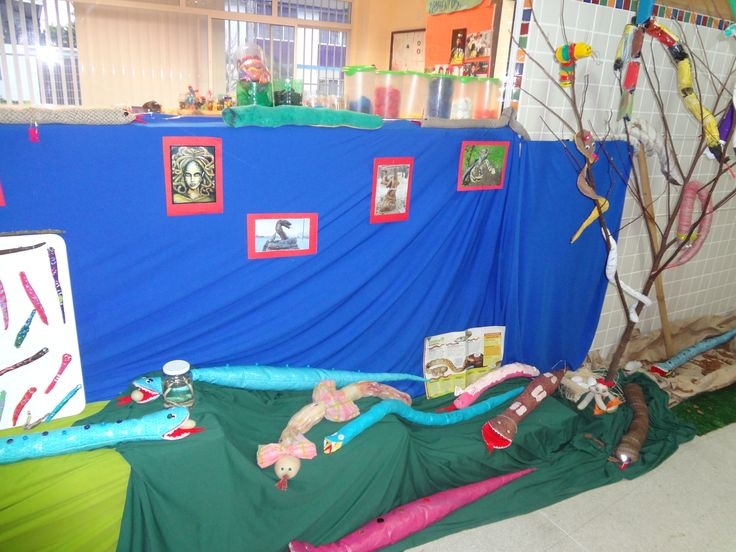 painel Projeto de Investigação cobras