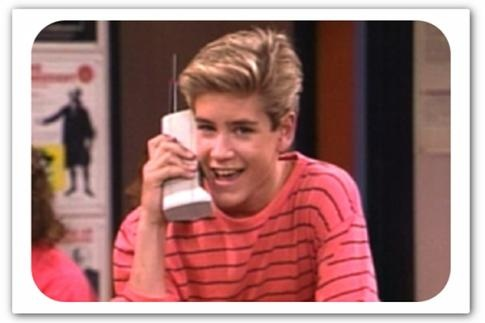 Zach from Saved by the Bell - an icon for anyone who had their early teens in the early 90's - school holidays were all about this show!: Schools, Save, Childhood Memories, Zach Morris, Cellphones, Cell Phones, 90S, Things, Zack Morris