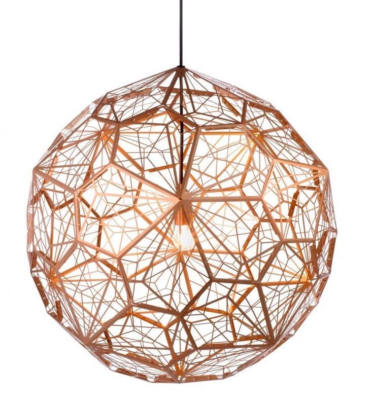 Etch Web Lamp by Tom Dixon.