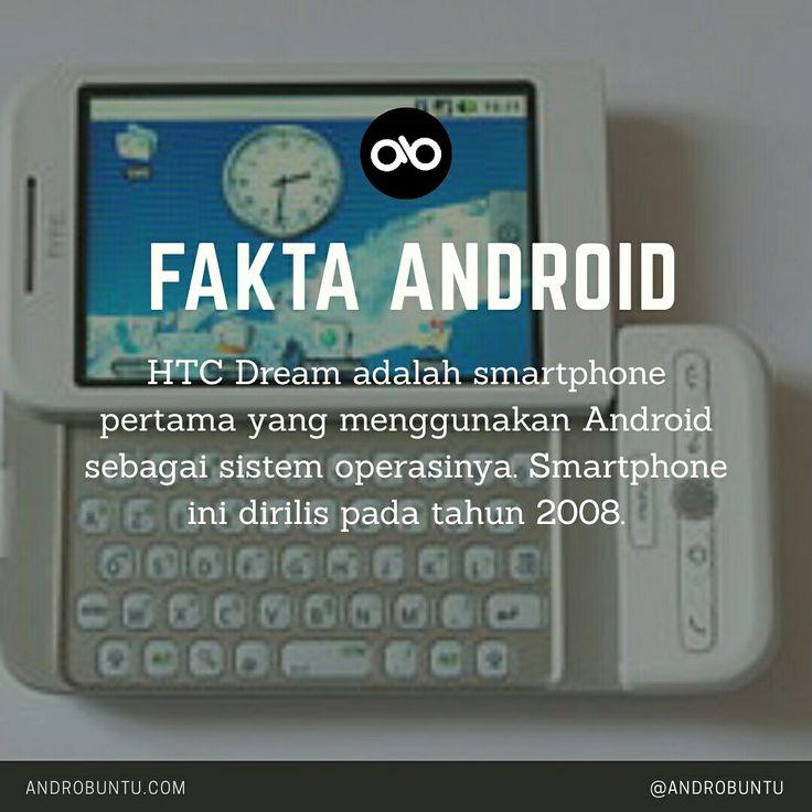 Smartphone pertama yang menggunakan Android sebagai sistem operasinya adalah... Selanjutnya di androbuntu.com