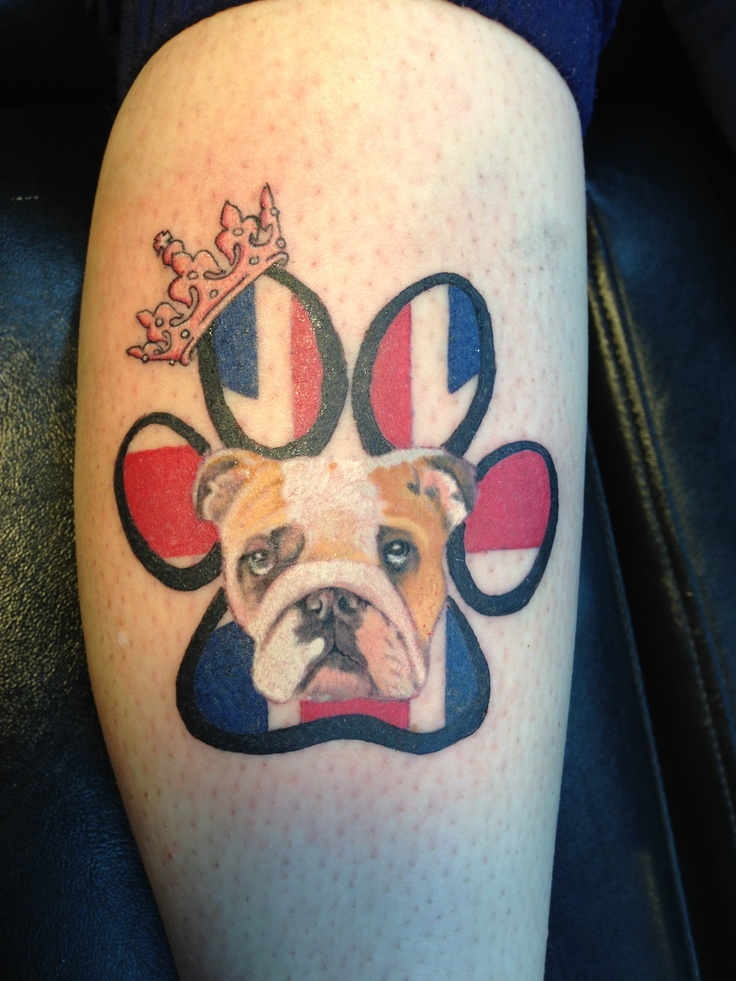 british bulldog pup tattoo tattoo ideas next one pinterest tattoo bulldog tattoo and. Black Bedroom Furniture Sets. Home Design Ideas