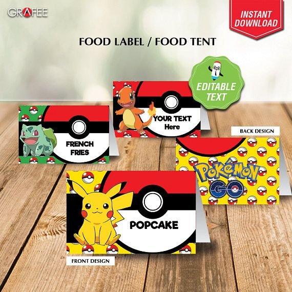 Hey, I found this really awesome Etsy listing at https://www.etsy.com/uk/listing/535698455/pokemon-food-tent-printable-editable
