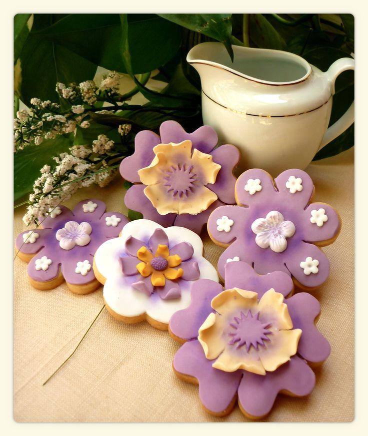 Galletas Flores Pastelhouse