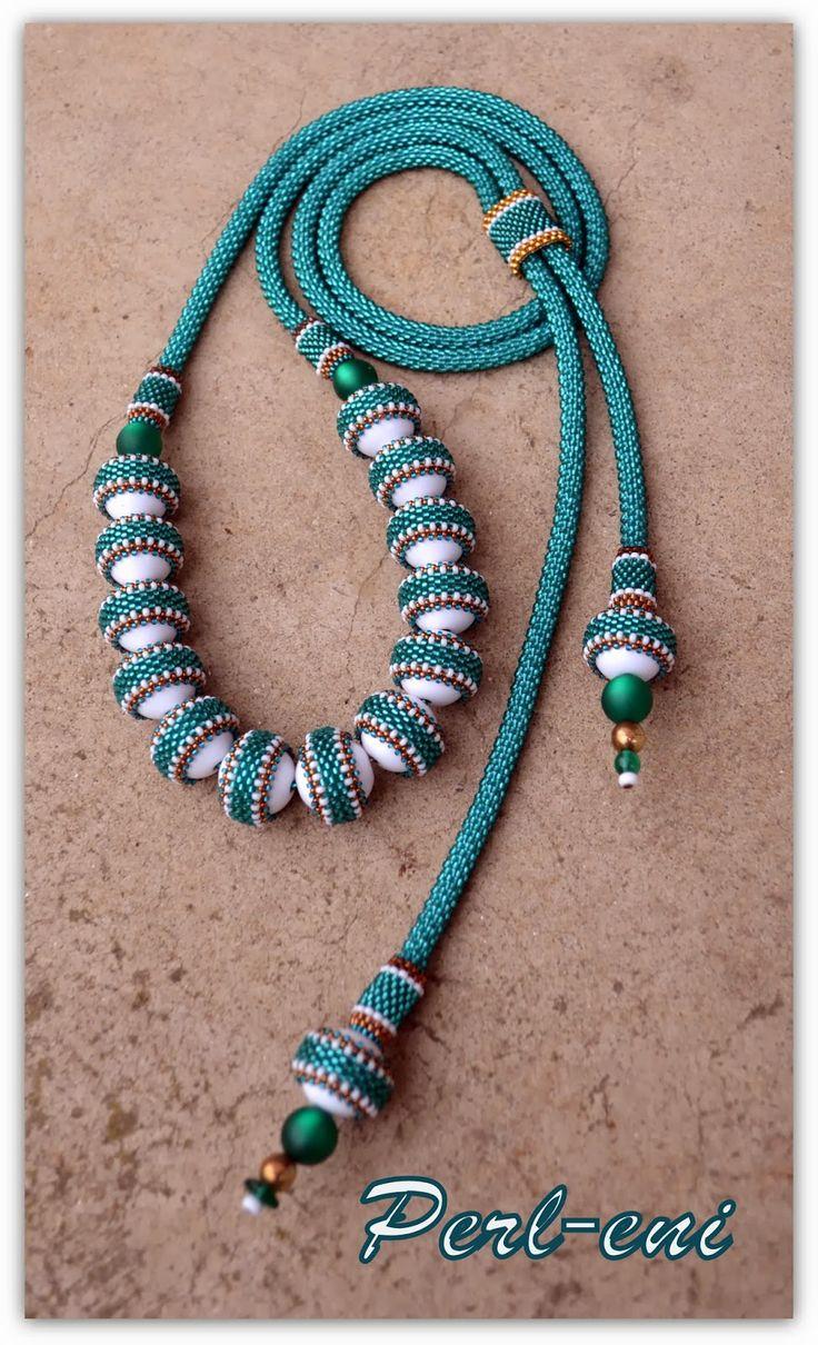 Perl eni (I like the beaded belt around the white beads)