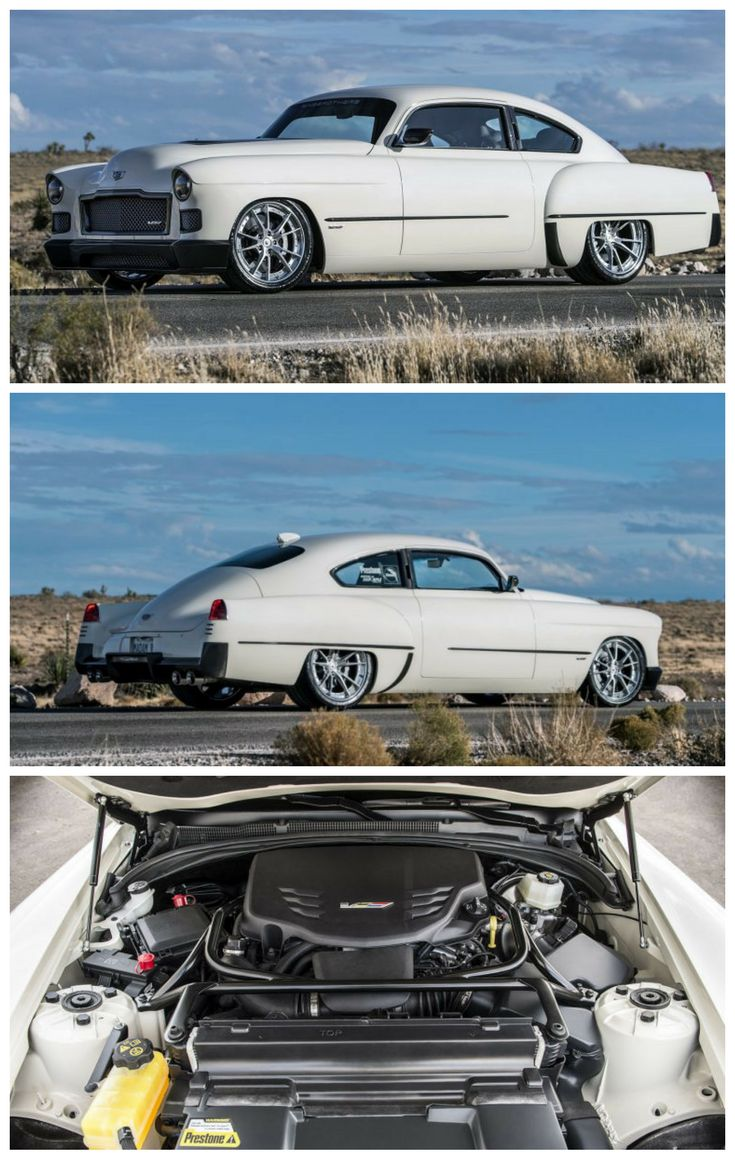 Ringbrothers Give a 1948 Cadillac a Twin-Turbo V6