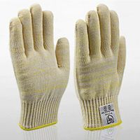 #aramid #gloves for outstanding grip for glass and metal sheets; leather palms for great puncture resistance; and many more combinations.
