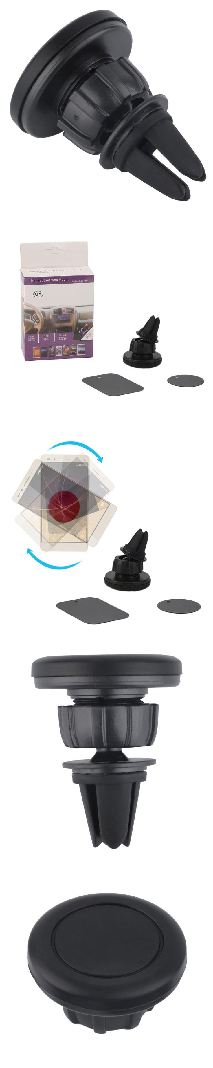 Universal Car Air Vent Mount Clip Magnetic Holder Dock For iPhone For Samsung Magnet holder Tablet GPS suporte para celular