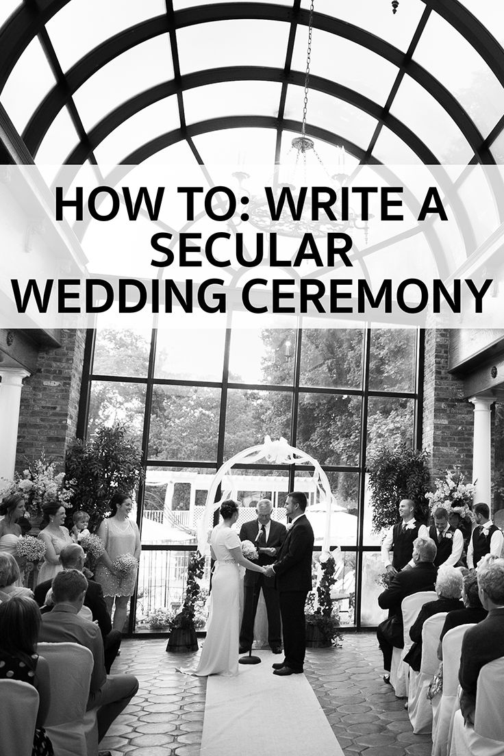How To Write a Secular Wedding Ceremony