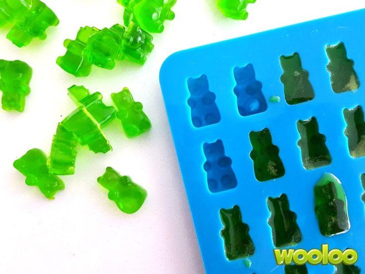 3 recettes d'oursons en gelée Wooloo