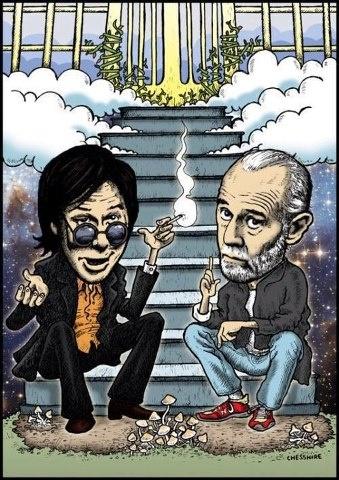 Bill Hicks & George Carlin                                                                                                                                                                                 More