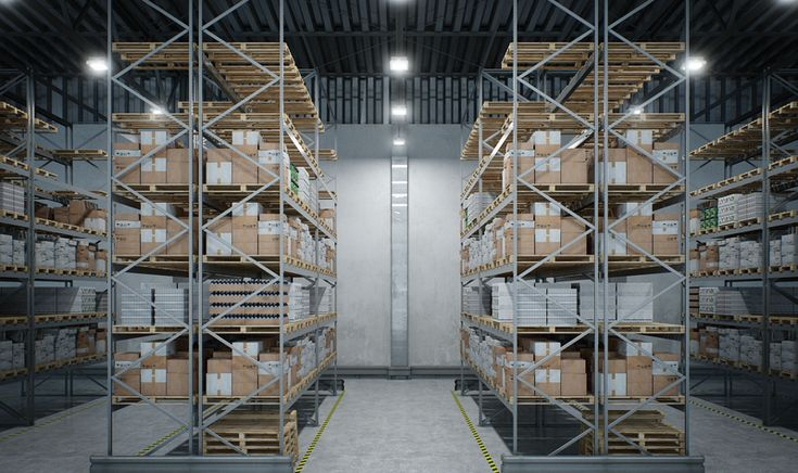 MILOO LIGHTING - Fittings for industrial halls and warehouses LED | SPACE S