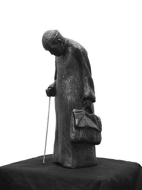 The Priest by Frank Rekrut, sculptor.