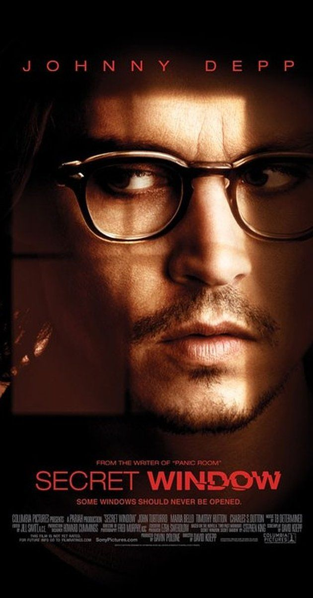 "Directed by David Koepp.  With Johnny Depp, Maria Bello, John Turturro, Timothy Hutton. A writer is accused for plagiarism by a strange man, who then starts haunting him for ""justice."""