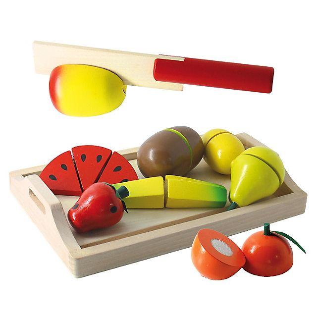 Set Fruta para Porcionar Madera Dactic - Falabella.com
