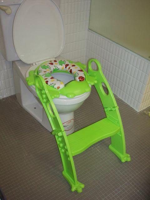 Makes potty training easier!