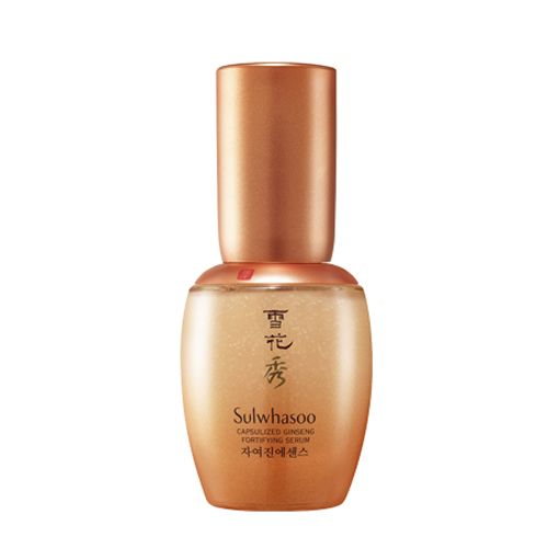 Sulwhasoo Capsulized Ginseng Fortifying Serum 35ml Features 1. Fills deep wrinkles with elasticity. 2. Capsulized Ginseng enhances skin elasticity. 3. As capsule melts and gets into skin, skin becomes smooth and resilient. Detail How to use