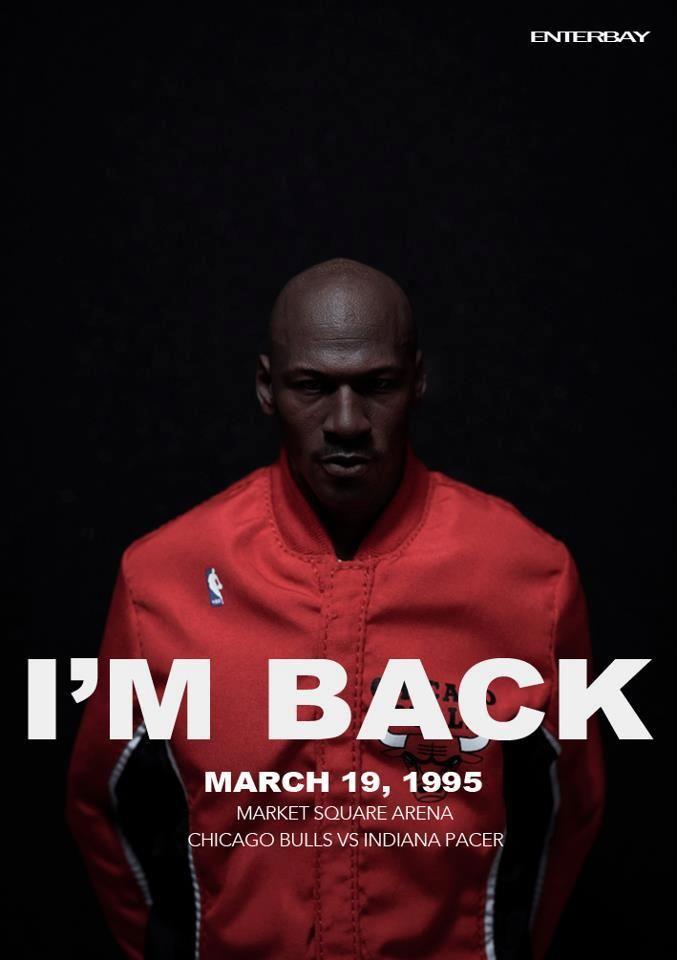 Michael Jordan comeback Más