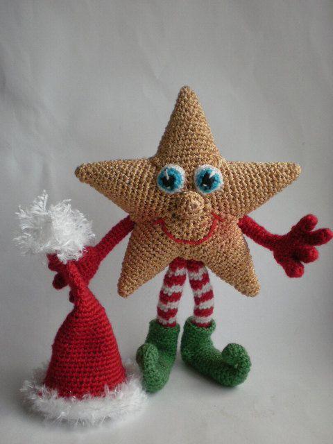Stargirl – patrón Crochet por ToyMagic [PDF descarga inmediata Amigurumi Toy]