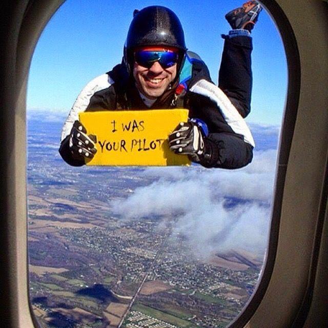 Bon atterrissage ! Que pensez-vous de cette image drole insolite ?