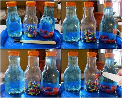 Magnetic sensory bottles