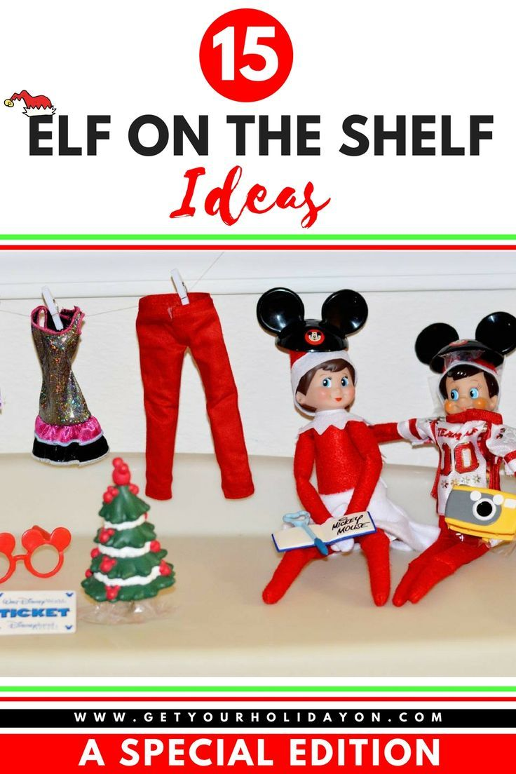 Elf on the Shelf A Special Edition... Ideas you are going to want to steal. www.getyourholidayon.com #elfontheshelf #Christmas #elf #parenthood