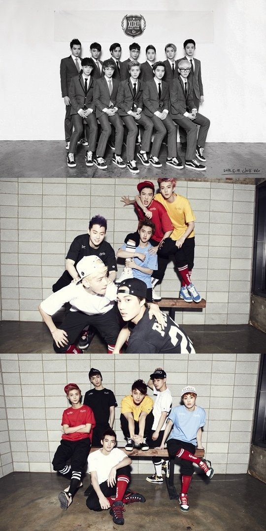 EXO reveals new group teaser photos for 'XOXO' comeback