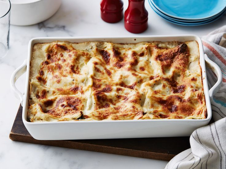 Get this all-star, easy-to-follow Portobello Mushroom Lasagna recipe from Ina Garten
