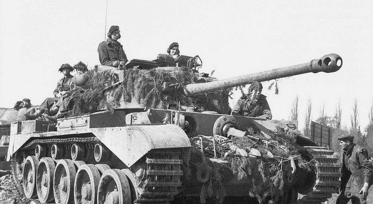 1945, Allemagne, Wessel, Un char britannique Comet (A-34) … | Flickr