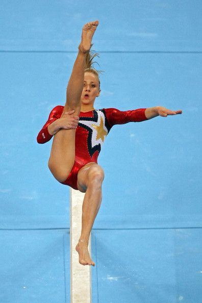 Nastia Liukin in Olympics Day 2 - Artistic Gymnastics
