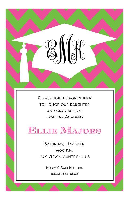 296 best graduation announcements party invitations images on flamingo grad chevron invitationsgraduation filmwisefo Images