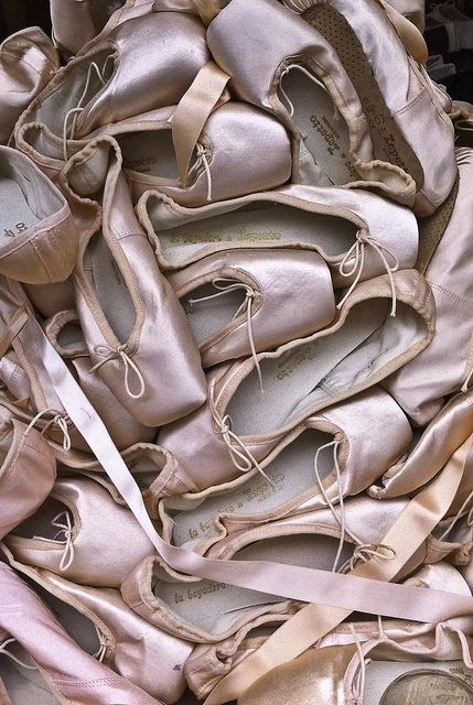 So many people have done this photograph with peonies – and as much as I love flowers, I prefer the pointe shoe version. x