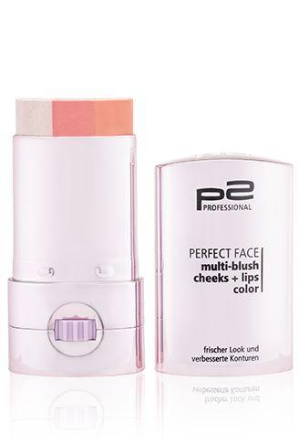 p2 Perfect Face Multi Blush Cheeks   Lips Color