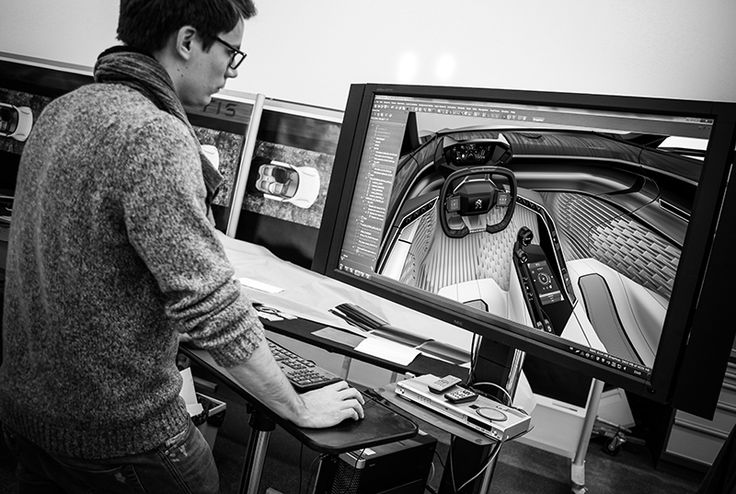 Peugeot Fractal - Making Of Pictures by Romain Bucaille