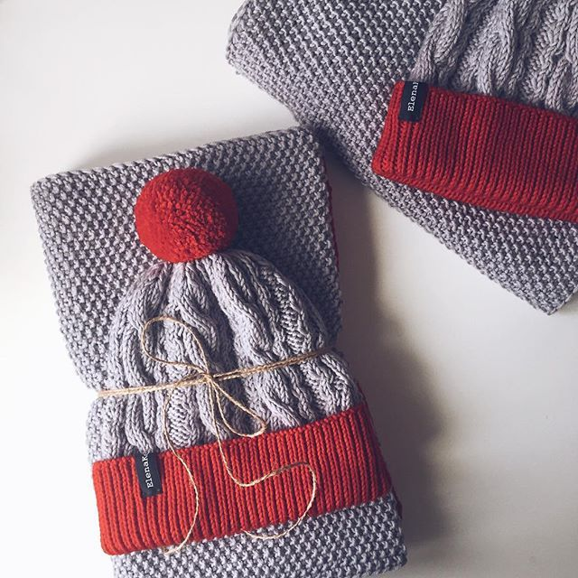 WEBSTA @ elen_koroleva - Family look ➡️  #knit #knitting #instaknit #i_loveknitting #vscoknit #vscocam #vsco #вяжу #вязание