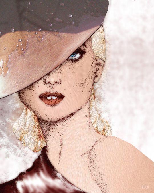 Fashion Illustration 40s
