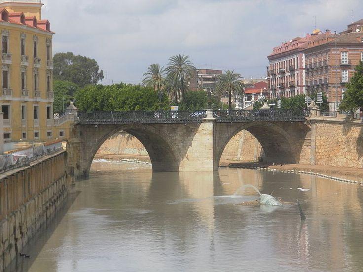 Puente de los Peligros de Murcia (España). Siglo XVIII.