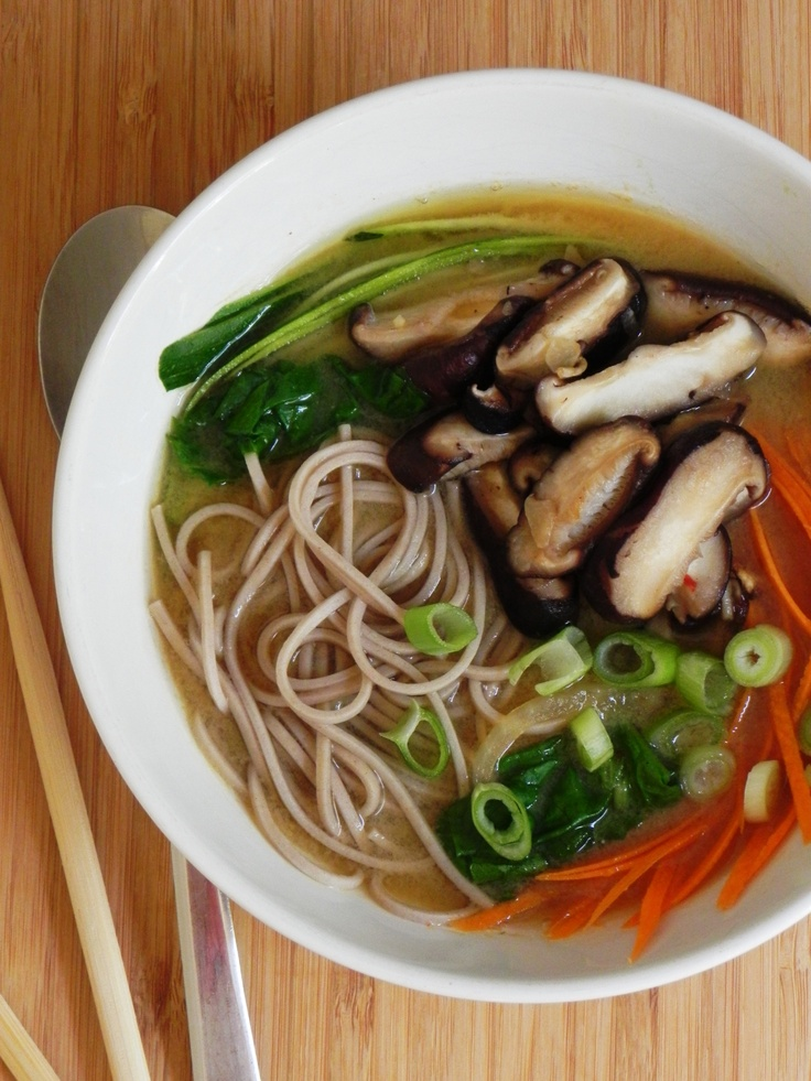 Vegetable Miso Ramen | Recipes I will share with my kids | Pinterest