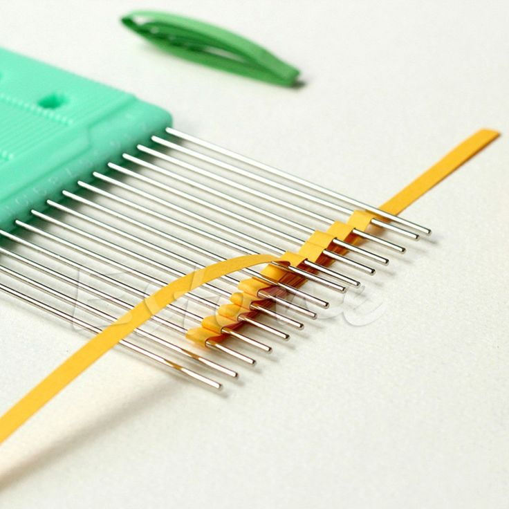 """Free Shipping Worldwide. New Paper Quilling Comb Tool $12.25 - 100% brand new and high quality - Material: Plastic + Stainless Steel - Color: As picture shown - Length: Approx. 14.5 x 8 x 0.7cm/5.71""""x"""