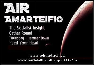 Interview on AirAmarteifioRadio (raw vegan, rawfood, 80-10-10)