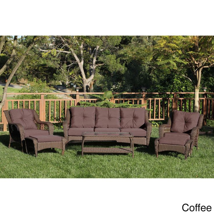 1000 Ideas About Resin Wicker Patio Furniture On Pinterest Outdoor Dining Set Outdoor Dining